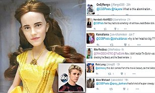 Beauty and the Beast doll is labelled as 'creepy' with shoppers saying it looks more like 'Justin Bieber in a wig' than Disney's Belle