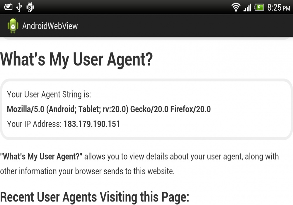 user agent stringheader nokia